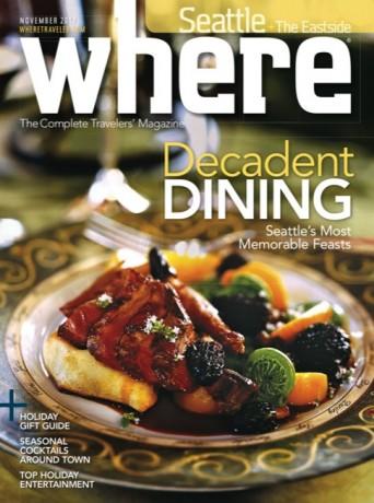 Seattle - Where magazine - November 2012