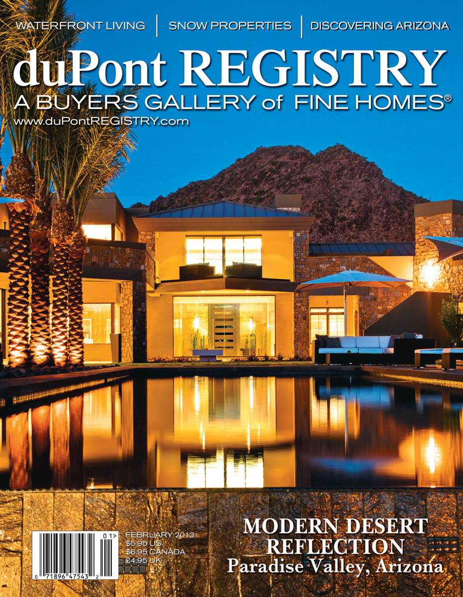 Dupont Registry S Fine Homes Magazine Paradise Valley Scottsdale Az